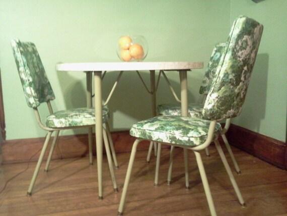 three kitchen chairs retro 1950 39 s dinette by