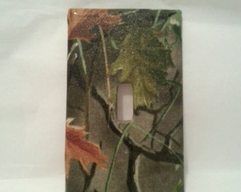 Camouflage Light Switch Plate Cover  Toggle Switch