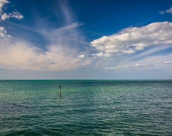 The Gulf of Mexico in Clearwater Beach, Florida - Beach Photography Fine Art Print or Wrapped Canvas