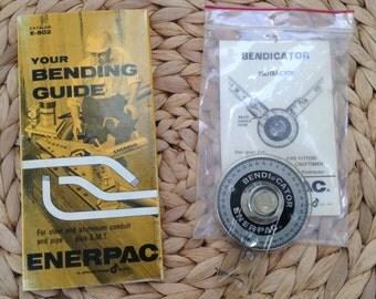 Rare Finds - Enerpac Bendicator Protractor