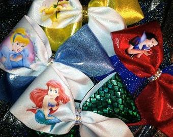 Princess Inspired Cheer Bow