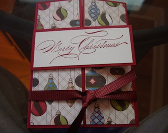 Stampin up Merry Christmas 5011 Cherry Cobbler