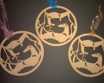 UniQ Deerhound & herten ornamenten