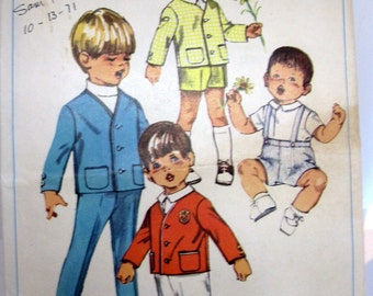 Vintage Sewing Patterns for Child