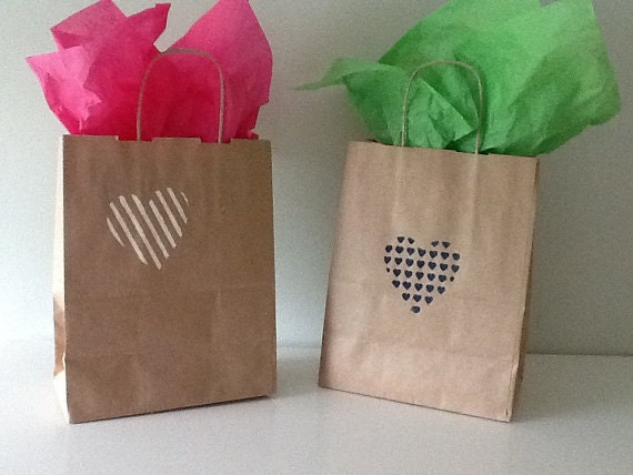 Kraft Paper Bags Wedding Welcome Favor By LifeofaCaptainsWife