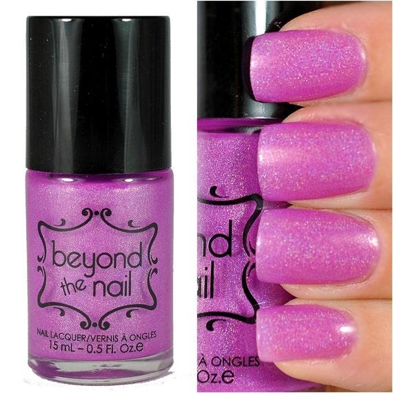 Hot Pink Galaxy Nail Products: Nebula Summer Galaxy Nail Polish Neon Purple By Beyondthenail