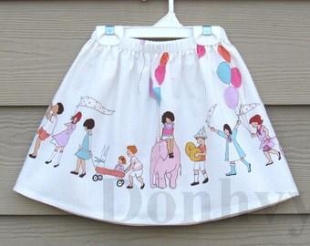 Girl's Summer Skirt. On Parade Skirts for Kids. Children Skirt in All Sizes: 6 Months_8