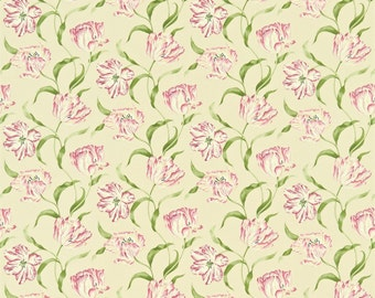 Sanderson Curtains in Dancing Tulips