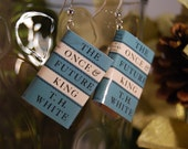 Once and Future King Book Earrings