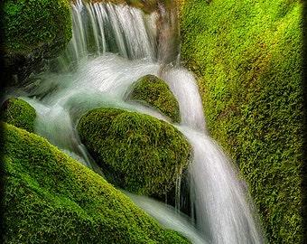 Mountain Stream Cascade E224