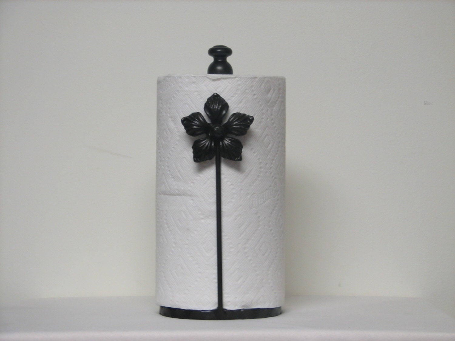 Wrought Iron Paper Towel Holder By Flawlessmetals On Etsy