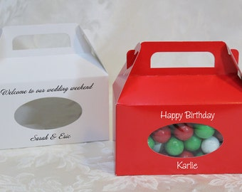 Favor Boxes~50 Personalized