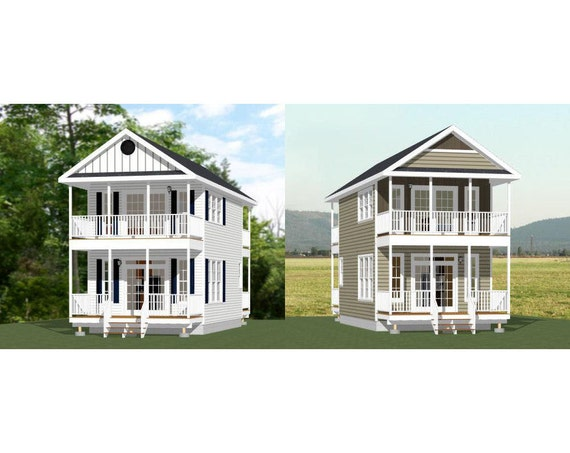 Items similar to 16x28 tiny houses 1 bedroom 1 5 for 18x30 house plans