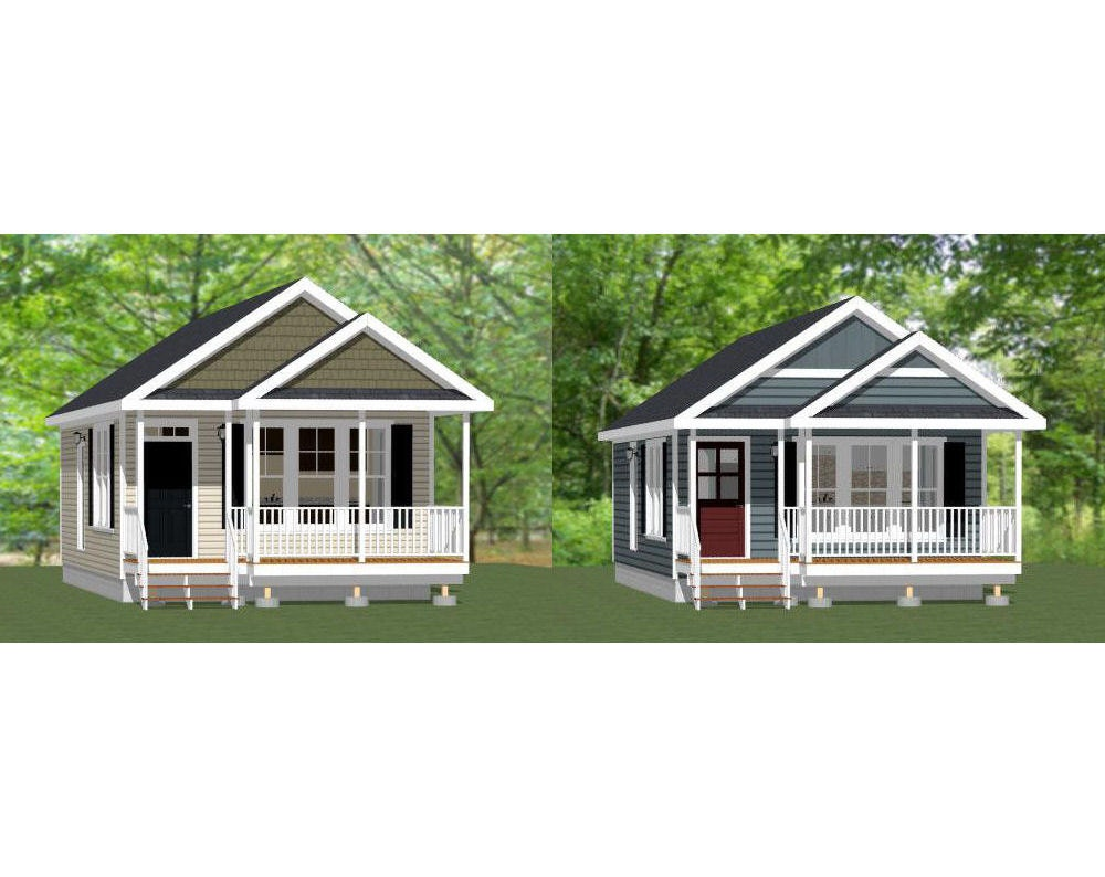 18x30 Tiny Houses 540 Sqft Pdf Floor By Excellentfloorplans