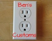 CUSTOM Plug Outlet Cover Home Decoration Electrical Outlet Cover