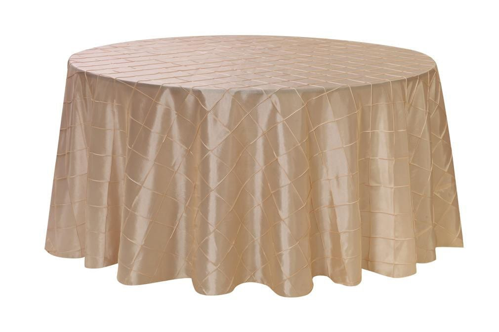 120 inch ivory pintuck round tablecloth wedding tablecloths for 120 inch round table cloths