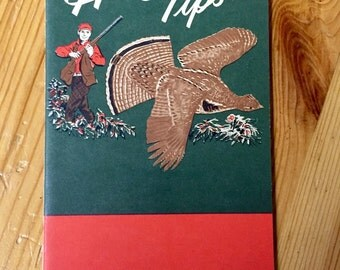 Vintage Hunting Tips Guide - For GM Employees - 1955