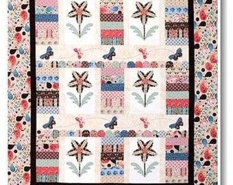 Tiwg and Grace Riley Blake Quilt Kit 100% Cotton Fabric and pattern Included