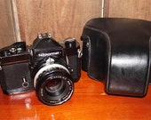 Vintage Nikkormat FT2 35mm SLR Film Camera