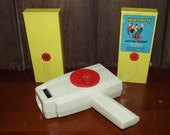 Vintage Fisher Price Movie Viewer and 2 Movies