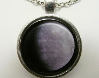 MERCURY Necklace -- Planet Mercury, Messenger of the Gods, Astronomy and Physics art for him and her