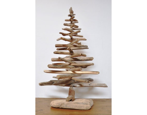 Albero di Natale con legni di mare by Lovesthate on Etsy