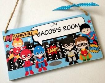 Children's Bedroom Door Sign