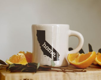 California home. Ceramic Coffee Mug