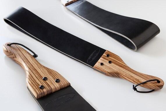 Spank belt strap