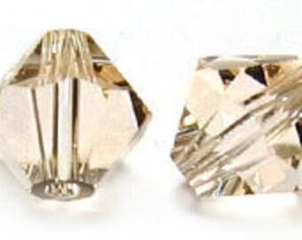 Silk~6 mm Xillion Bicone (5328) Genuine Swarovski crystals. you choose size.