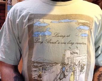 Long Beach Long Island NY Always A Vacation T Shirt