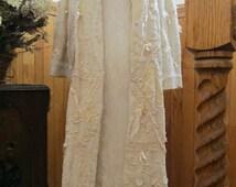Victorian Bridal/Wedding Coat