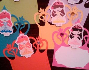 Princess Candy Buffet Slider Labels
