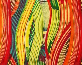 Alexander Henry - Mashama Stripe - Red Multi
