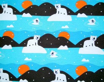 "0,5 m Single-Jersey ""Polar Bear"" 160 cm width organic cotton sweden"