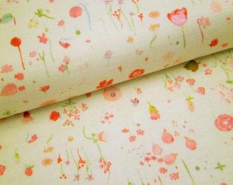 "0,5 m japanese fabric ""Meadow"" 106 cm br."