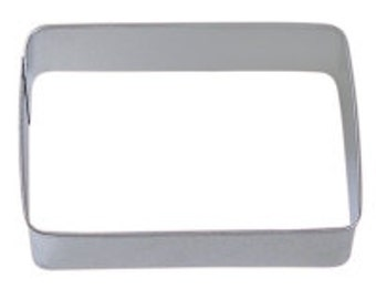 Rectangle 3.5'' Cookie Cutter  Wedding Party Place Card