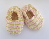 Soft sole baby girl shoes