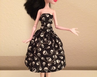Skull Dress for Monster High