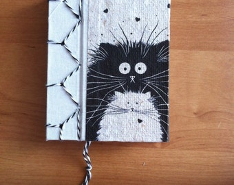 Diary bound in recycled paper