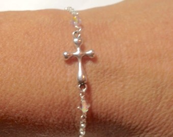 Silver Tibetan cross
