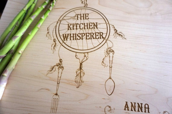The Cutting Board Shop: Dreamcatcher Cutting Board Personalized