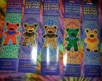 RARE Grateful Dead Liquid Blue Brand Incense EXTREMELY DELIGHTFUL... 3 randomly selected packs per order