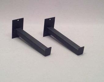 Steel Wall Bracket, Steel Shelf Bracket, Modern Shelf Bracket, Industrial Steel Shelf Support, Metal Bracket, Metal Shelf Support 050