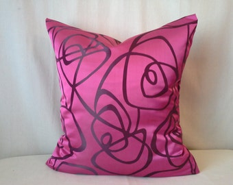 Whimsical Rasberry Pillow Cover