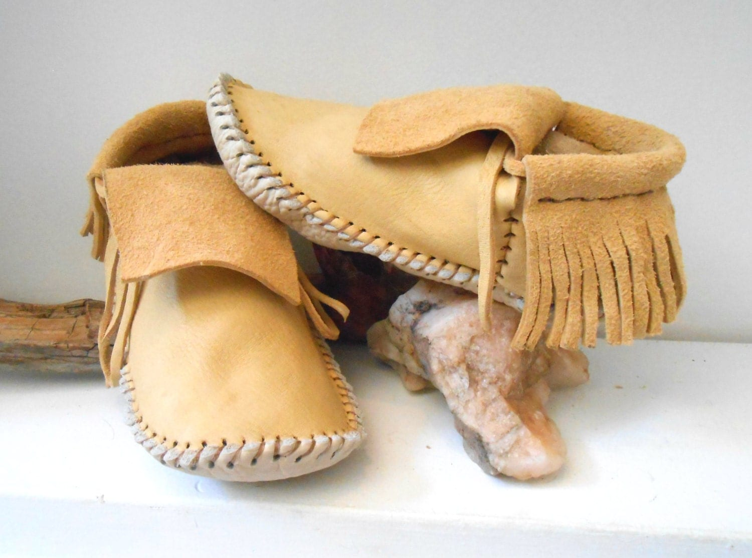 Moccasins Native American Made