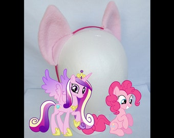 Pinkie Pie / Princess Cadence My Little Pony Ears, Costume Ears, Cosplay Ears Headband