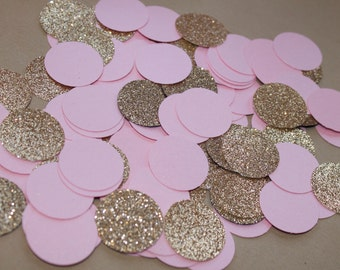 Pink and Gold Party Confetti 200CT