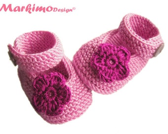 Baby shoes baby shoes Mary Janes baptism shoes baby shoes girl pink