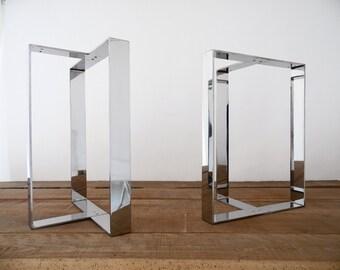 Furniture Legs Stainless Steel 16 flat brass table legs brass table legs height